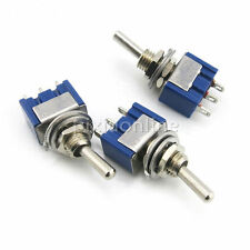 1pc J150 Two Files Toggle Switch Electrical Circuit Making Twist Switch DIY Part