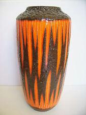 Keramik Fat Lava Bodenvase 517-45 Scheurich West-Germany floor Vase WGP 45cm