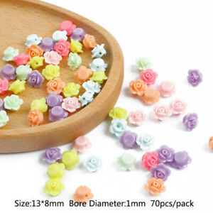 Acrylic 30g Loose Beads DIY Pendant Colorful Earrings Jewelry Accessories
