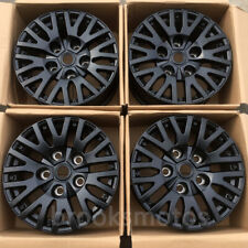 """18"""" K STYLE CLASSIC ALLOY WHEELS RIMS FIT FOR LAND ROVER DEFENDER 90 110 BLACK"""