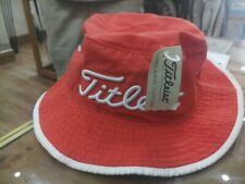 TITLEIST FLOPPY BUCKET HAT ORGANIC COTTON BRAND NEW.SIZE L/XL. MSRP 39.99
