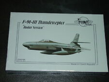 Republic XF-91-IIIThunderceptor Radar Nose '50's Fighter Planet Resins 1/72 *