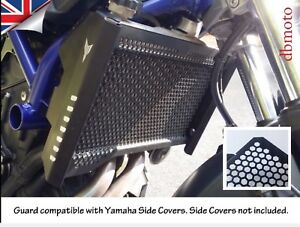 Alloy Radiator Side Guard Cover fit for YAMAHA MT07 FZ07 2014-2017