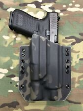 Multicam Black Kydex Holster for Glock 19 Threaded Barrel Surefire X300 Ultra A