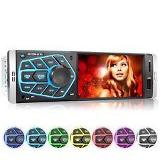 Autoradio mit 10cm 4Zoll Video Bildschirm Usb Sd Aux-in Mp3 1DIN ohne CD