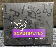 1992 Scrutineyes The Game of Closer Looks by Hersch Mattel New/Sealed Vintage