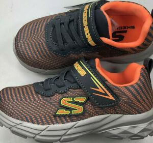 Skechers Eclipsor / Boys Youth / Orange/Charcoal / NIB Reg $30  1/2 OFF!