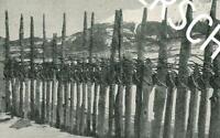 Palisadenzaun in Tirol - Brauchtum - um 1920                      Z 18-31