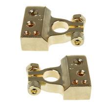 2 Pcs Gold Plated Car Battery Terminal Positive Nagative F 0/1 2 4 8 AWG Tool