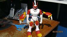 Digimon Warp-Digivolving Gallantmon Digivoles to Guilmon Bandai Action Figure