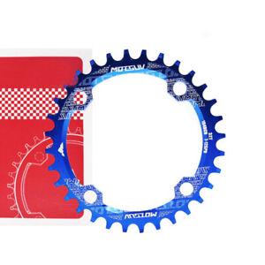 MTB Bike Bicycle Crank Chainwheel Chainring Narrow Wide Round/Oval 32/34/36/38T