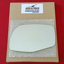 NEW Mirror Glass + ADHESIVE FORD MERCURY MAZDA TRUCK Driver Left Side