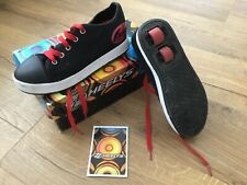 Heelys black and Red 2 wheels unisex size 5 - FRESH X2