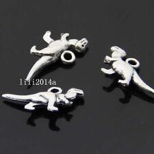 20pc Tibet silver dinosaur Animal Pendant Charm Beads accessories  PL121