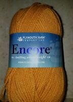 SKEIN/BALL OF PLYMOUTH ENCORE YARN ~ COLOR #460 GOLDEN GLOW