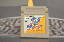 ROCKMAN WORLD 3 (MEGAMAN) GAME BOY JAP JP JPN GB GAMEBOY TRANSPORT MULTIPLE
