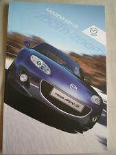 Mazda MX5 range brochure Nov 2011
