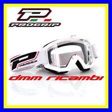 Occhiali PROGRIP 3201 Cross Enduro Motard ATV Quad PitBike Bici MTB DH Bianco