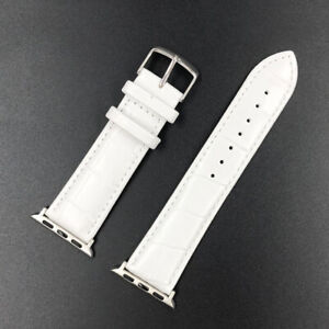 For Apple Watch Series 6 5 4 3-1 Genuine Leather iWatch Band Strap 40/44/38/42mm