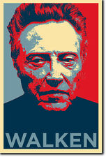 CHRISTOPHER WALKEN ART PHOTO PRINT (OBAMA HOPE) POSTER GIFT