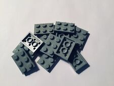 Lego Grigio Chiaro Piastra 2 x 3 - Lot Of 12 Piastre 8868 4483 6085 5571 10030