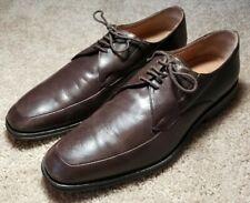 BRUNO MAGLI (RANUNCOLO)-Brown Italian Leather, Mens Oxford Dress Shoes-(9.M)