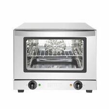 More details for buffalo convection oven in silver stainless steel & glass - 21l