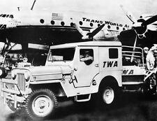 1958 Jeep CJ 3B Baggage Tractor Factory Photo u3377-ONXFA9