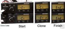 CLONE CABLE KIT frequency settings Kenwood TK-805d  tk-805  tk705d tk-705d