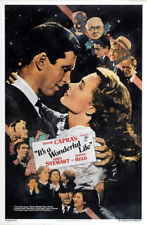 It's a wonderful life 1946 James Stewart movie poster print