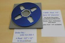 "Tape Reel 1/2"" , 30 cm f.Studio Records, Tascam, Ampex, Sony -NEU- Nr. LX2-1/2-1"