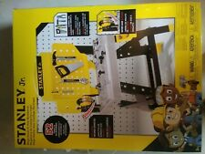 NEW IN BOX Stanley Jr. Mega Power N' Play Workbench. 52 Tools & Accessories.