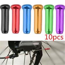 10PCS Bike Bicycle Brake Shifter Derailleur Inner Cable Wire End Cap Crimps Lot