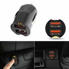 Universal 2.1A Dual Usb Car Phone Gps Charger Adapter 2-Port 12 24V Accessories (Fits: Charger)