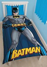 BATMAN DC SHADOW SINGLE DUVET REVERSIBLE KIDS QUILT COVER POLYCOTTON BEDDING SET