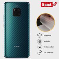 Back Screen Protector Film Huawei Mate 20 Pro X Lite Carbon Fiber Sticker Skin
