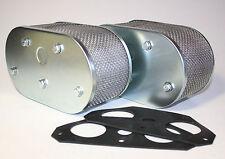 Luftfilter Porsche 356 912 / VW Solex 40 PII-4 Vergaser Doppelvergaser Filter