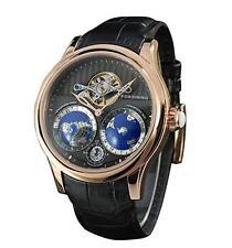 Forsining Men's Luxury Automatic Watch with World Map Tourbillon Movement