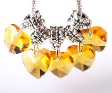 Exquisite 5pcs Silver big hole Beads Fit European Charm Pendant Bracelet #A245