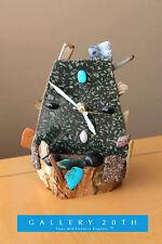 MODERNIST ABSTRACT ROCK CLOCK! Stones Eames Vtg 50's Art Mid Century 60's
