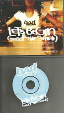 BAD RONALD Let's Begin w/ MTV EDIT & MIX PROMO DJ CD single minimaxi cool disc