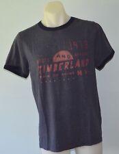 Timberland Mens Printed T Shirt -  GREY - SIZES - S, L &  XXL - NEW