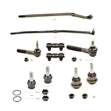 10 Piece Tie Rod and Ball Joint Kit for 2000-02 Dodge Ram 2500-3500 4 X 4