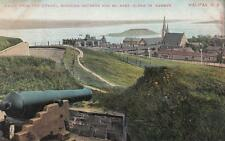 Antique POSTCARD c1907-20 View of Harbor from Citadel HALIFAX, NS 19065