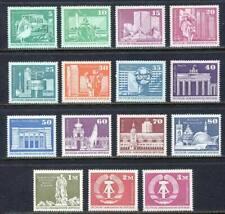 31579) DDR 1973/74 MNH** Definitives 15v. Scott# 1430/43A