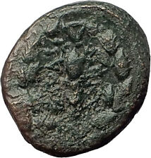 SARDES in Lydia 133BC Authentic Ancient Greek Coin APOLLO & HERCULES CLUB i62391