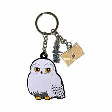 Harry Potter 3 Charm Hedwig Owl Keyring
