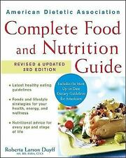 American Dietetic Association Complete Food and Nutrition Guide by Duyff, Rober