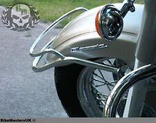 Yamaha XVS 1100 Drag Star (V-Star) cromo Fender Parachoques Frontal clásica carril de ajuste