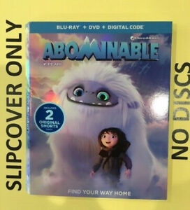Abominable (2019) - Blu-ray Slipcover ONLY - NO DISCS
